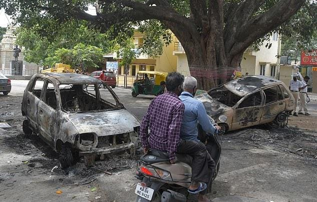 Bengaluru communal violence: social media posts Hindu Muslim