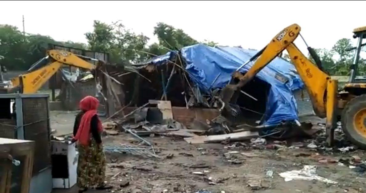 UP clears Rohingya camp